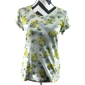 T.La Anthropologie Floral Shirt